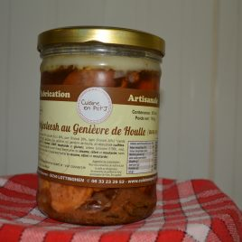 Potjevleesh au Genièvre de Houlle (avec os)