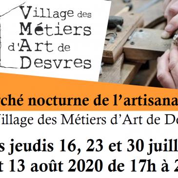 Marché Nocturne de l'artisanat local à Desvres