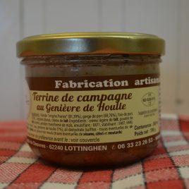 Terrine de Campagne au Genièvre de Houlle (260mL/190g)