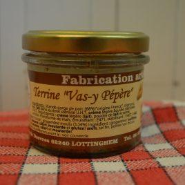 "Terrine ""Vas-y-Pépère""  (120 ml / 90 g)"