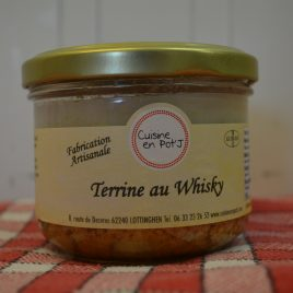 Terrine au Whisky (260ml/190g)