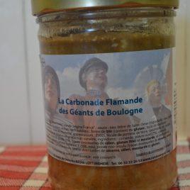 Carbonade flamande Géants de Boulogne