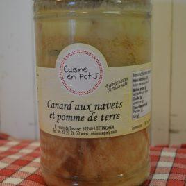 Canard aux Navets et Pomme de terre (1.062ml/1.000g)