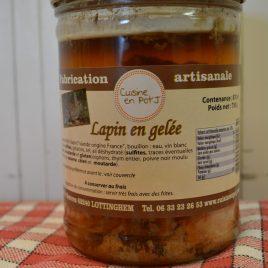 Lapin en gelée (870 ml/750g)