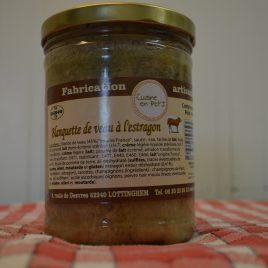 Blanquette de Veau à l'Estragon (870ml / 750g)