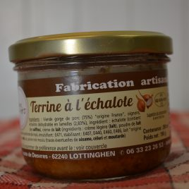 Terrine à l'Echalote (260 ml / 190 g)