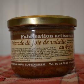 Poivrade de Foie de Volaille au Porto (260 ml / 190 g)