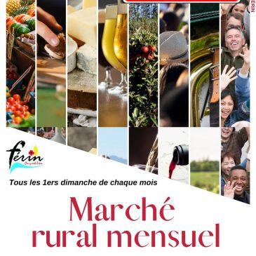Marché rural de Férin