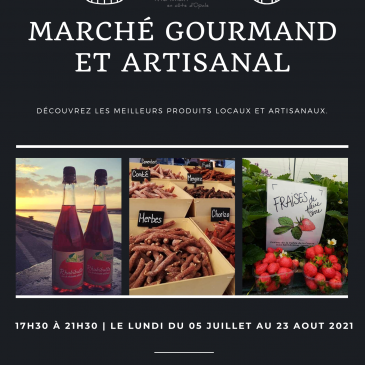 Marché gourmand et artisanal à Merlimont