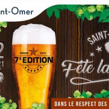 A Saint-Omer, la fête de la bière les 11 et 12 septembre.